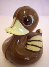 a picture of a chocolate duck