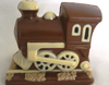 a picture of a chocolate train engine