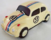 a picture of vw herbie chocolate car