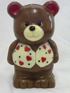 a picture of a chocolate valentine bear